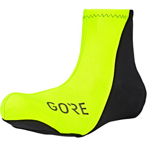 GORE WEAR C3 Partial Windstopper Overshoes neon yellow/black neon yellow/black