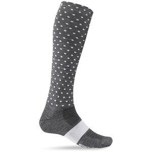 Giro Hightower Socks Merino Wool charcoal/white dots charcoal/white dots