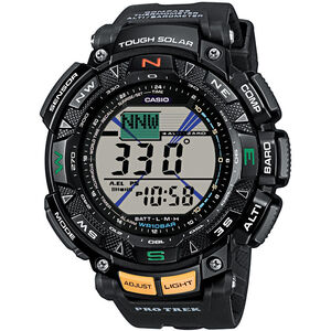 CASIO PRO TREK PRG-240-1ER Watch Men black/black/grey black/black/grey
