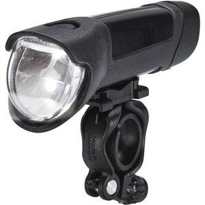 Busch + Müller Ixon Fyre Akku-Frontscheinwerfer mit USB Netzteil schwarz-silber bei fahrrad.de Online