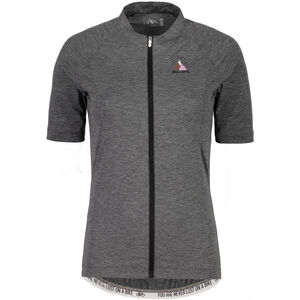 Maloja BorgiaM. Shortsleeve Bike Jersey Damen grey melange grey melange