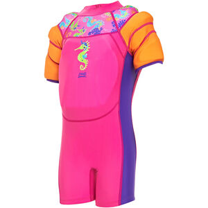 Zoggs Sea Unicorn Water Wings Floatsuit Mädchen pink pink