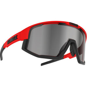 Bliz Fusion M12 Brille shiny red/smoke with silver mirror shiny red/smoke with silver mirror
