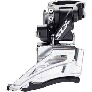 Shimano SLX FD-M7025 Umwerfer Schelle hoch 2x11 Down Swing Schwarz