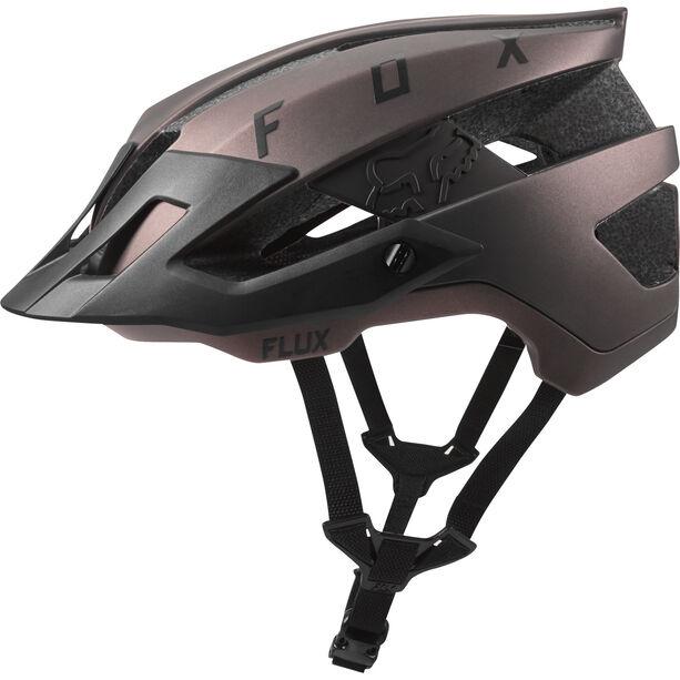 Fox Flux Solid Trail Helmet Herren black iri