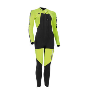 Head Swimrun Rough 4.3.2 Wetsuit Damen yellow/black yellow/black