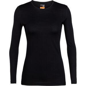 Icebreaker 200 Oasis LS Crew Shirt Damen black black