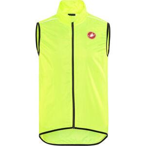 Castelli Squadra Long Vest Herren yellow fluo