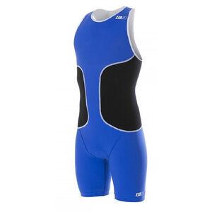 Z3R0D oSUIT Tri Suit Herren blue/black/white blue/black/white