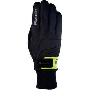 Roeckl Rebelva Handschuhe schwarz/gelb bei fahrrad.de Online