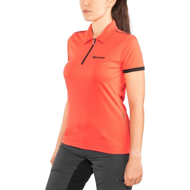 Gonso Litha Shirt Damen hot coral