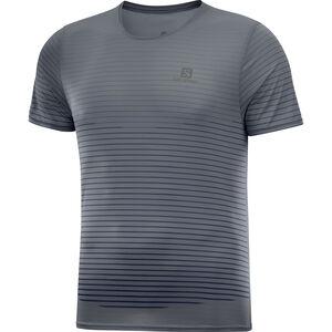Salomon Sense T-Shirt Herren ebony/black ebony/black