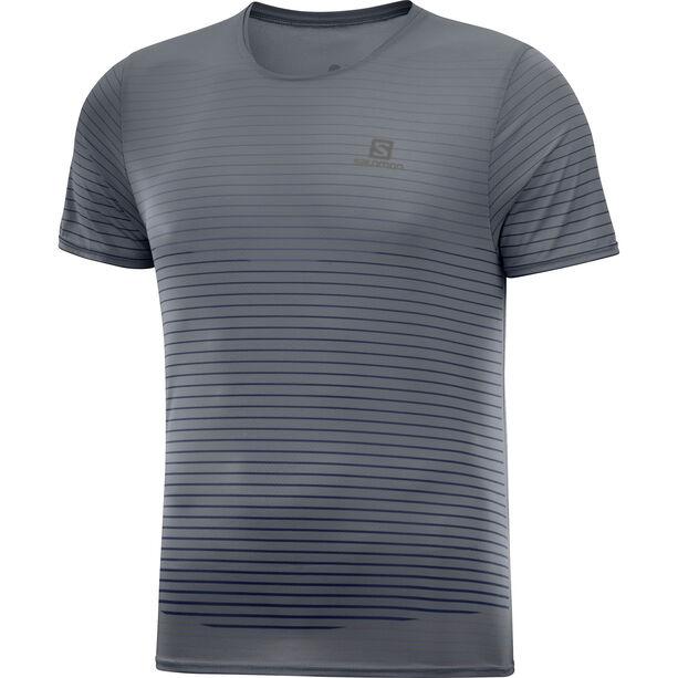 Salomon Sense T-Shirt Herren ebony/black