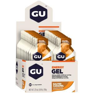 GU Energy Gel Box 24x32g Salted Caramell
