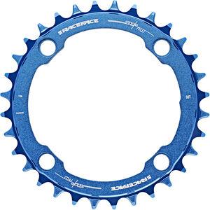 Race Face Narrow Wide Kettenblatt 4-Bolt 10/11/12-fach blau blau