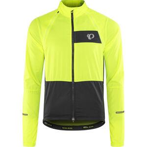 PEARL iZUMi Elite Escape Convertible Jacket Men screaming yellow/black bei fahrrad.de Online