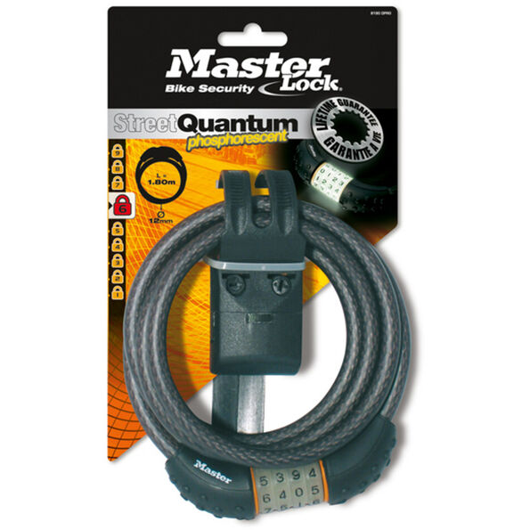 Masterlock Quantum 8190 Nightglow Fahrradschloss