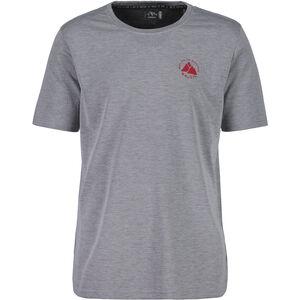 Maloja SassaglM. Shortsleeve Multisport Shirt Herren grey melange grey melange