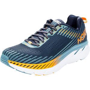 Hoka One One Clifton 5 Running Shoes Herren black iris/storm blue black iris/storm blue