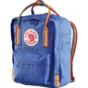 Fjällräven Kånken Rainbow Mini Backpack deep blue-rainbow pattern deep blue-rainbow pattern