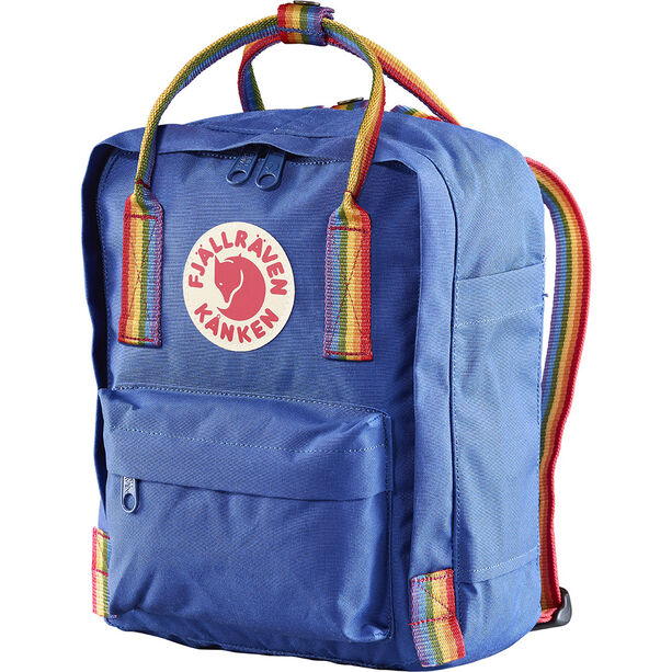 Fjällräven Kånken Rainbow Mini Backpack deep blue-rainbow pattern