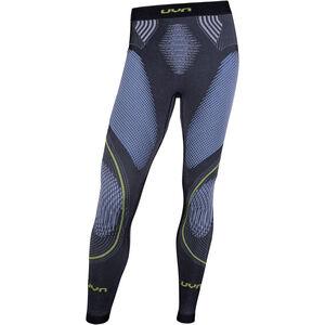 UYN Evolutyon Melange UW Long Pants Men Anthracite Melange/Blue/Yellow Shiny bei fahrrad.de Online