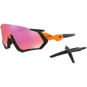 Oakley Flight Jacket Sunglasses Neon Orange/Prizm Trail bei fahrrad.de Online