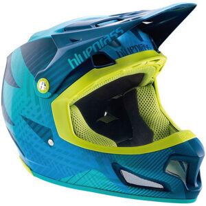 bluegrass Brave Fullface Helm blue/green