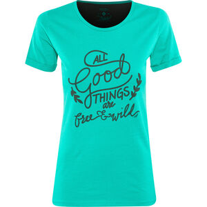 Triple2 Laag Handwrite T-Shirt Women Lapis lapis