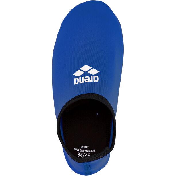 arena Pool Grip Socks Kinder blue