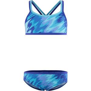 Nike Swim Splash Spiderback Bikini Girls Paramount Blue bei fahrrad.de Online