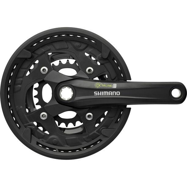 Shimano Alivio FC-T4010 Kurbelgarnitur Octalink 9-fach schwarz