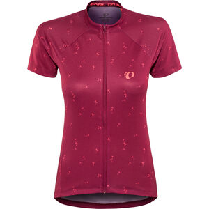 PEARL iZUMi Select Escape Graphic Shortsleeve Jersey Damen beet red wish beet red wish