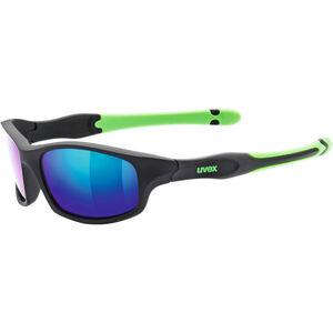 UVEX Sportstyle 507 Sportbrille Kinder black mat green/green black mat green/green