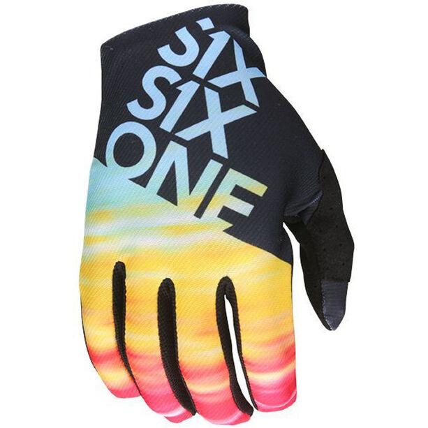 SixSixOne Raji Handschuhe tie dye tie dye