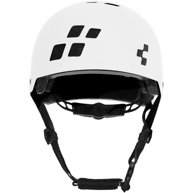 Cube Dirt Helmet Kinder white