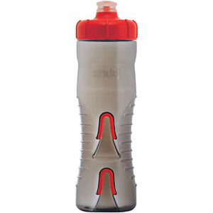 Fabric Cageless Bottle 750ml black/red black/red