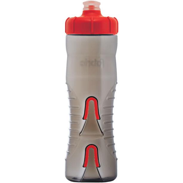 Fabric Cageless Bottle 750ml black/red