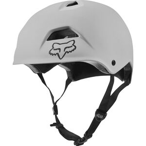 Fox Flight Jump Helmet Herren white white