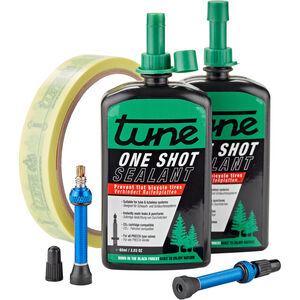 Tune One Shot Tubeless Kit Road 60ml inkl. 18mm blue Felgenband