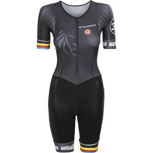 Bioracer Van Vlaanderen Trisuit SS Damen black black