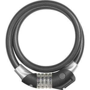 ABUS Raydo Pro 1440/85 Spiralkabelschloss TexKF schwarz schwarz