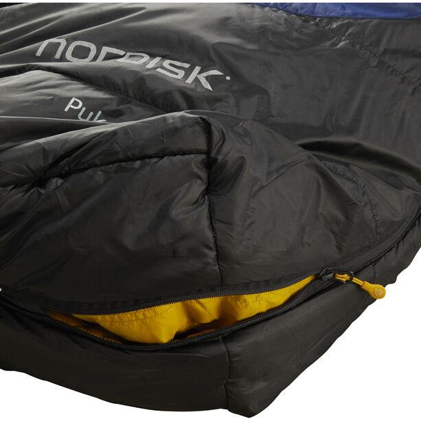 Nordisk Puk -2° Curve Sleeping Bag L true navy/mustard yellow/black