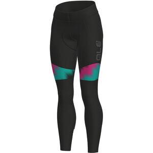 Alé Cycling Solid Pulse Tights Damen black-magenta-turquoise black-magenta-turquoise