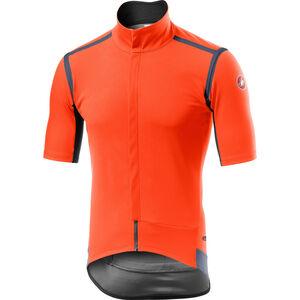 Castelli Gabba Rain Or Shine Kurzarm Trikot Herren orange orange