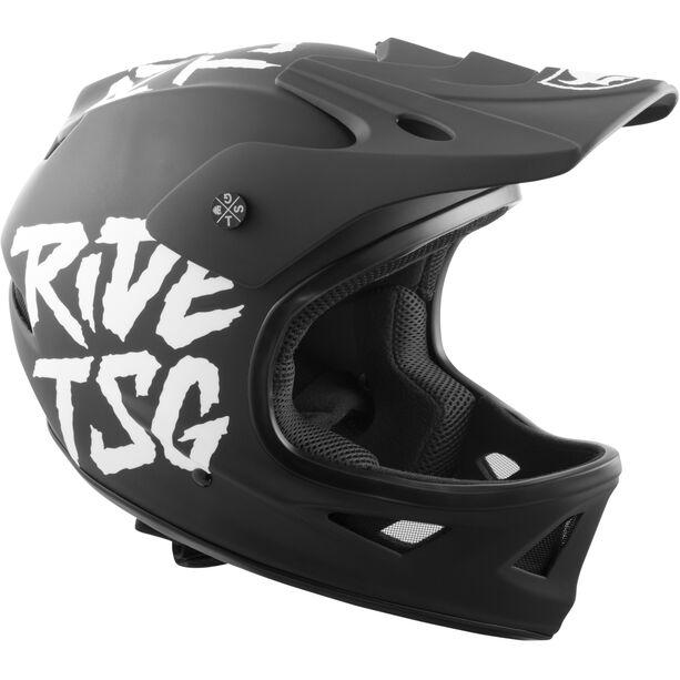 TSG Squad Graphic Design Helmet Herren ripped black