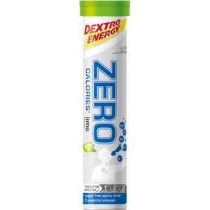 Dextro Energy Zero Calories Electrolyt Tabs 20 Stück Limette