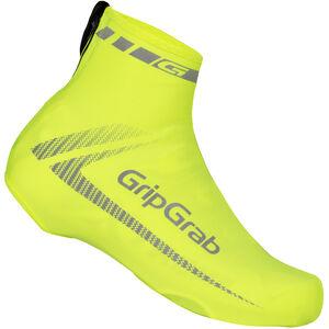 GripGrab RaceAero Hi-Vis Lightweight Lycra Shoe Cover yellow yellow