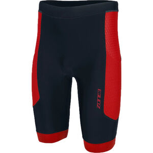 Zone3 Aquaflo Plus Shorts Herren black/red black/red