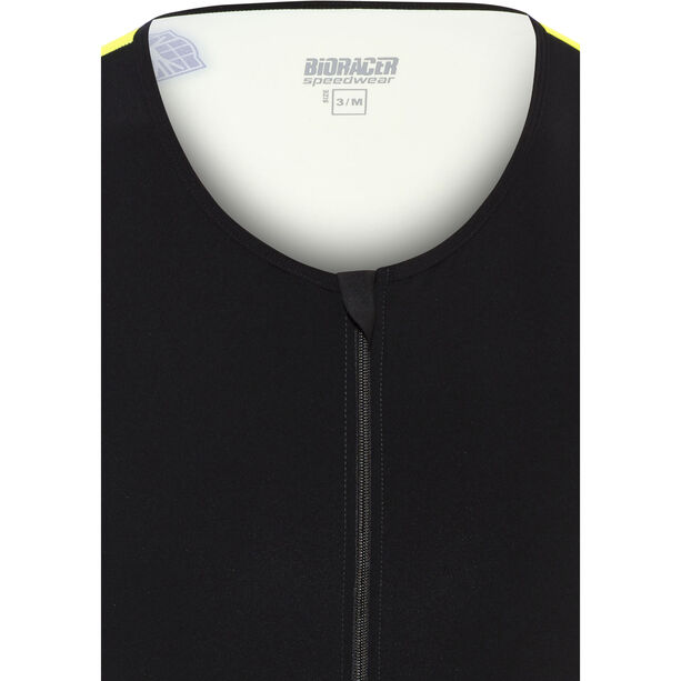 Bioracer Tri Top Zipper black-fluoyellow
